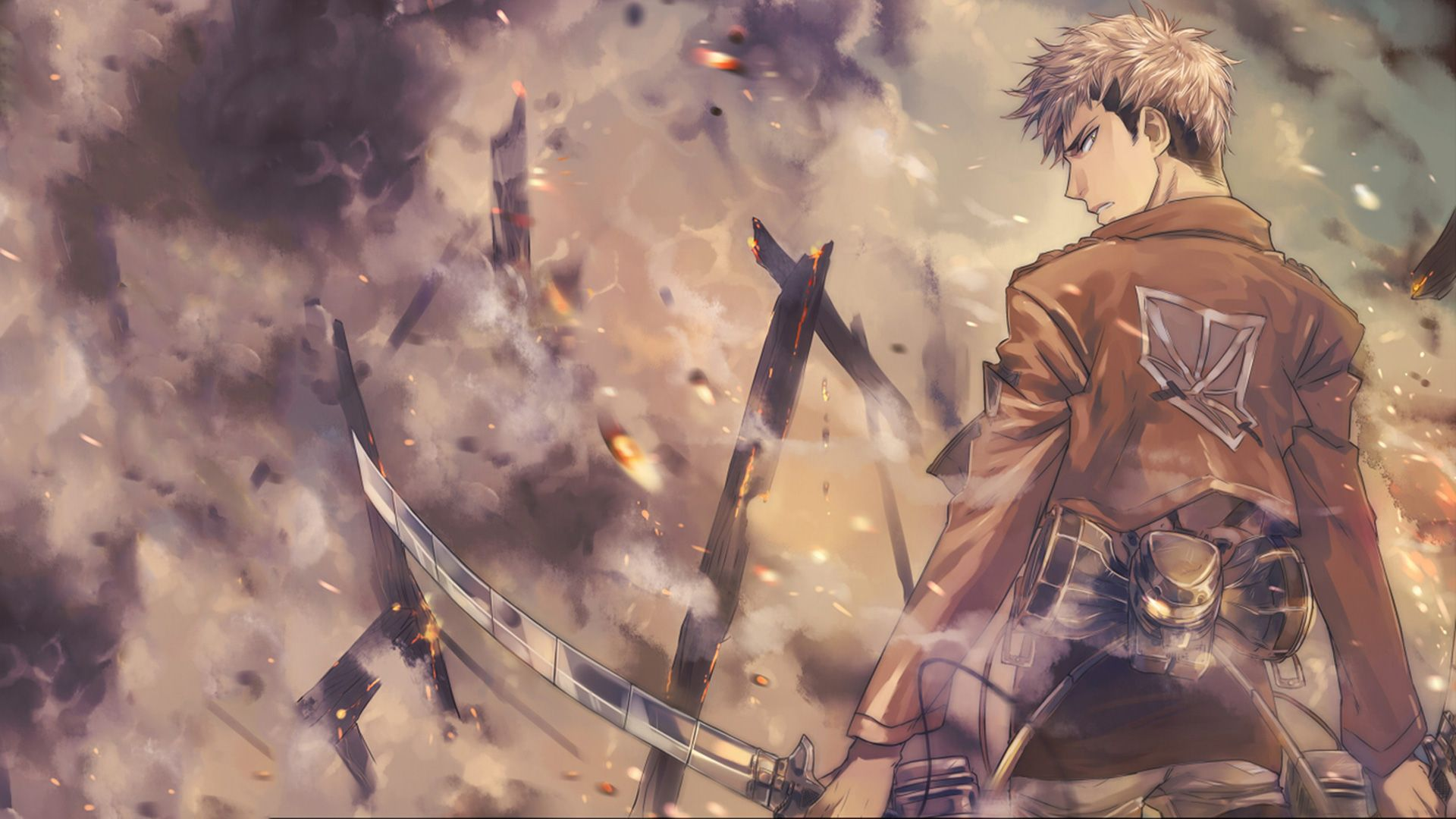 Shingeki No Kyojin Jean Kirstein Computer Wallpapers Desktop Backgrounds 1920x1080 Id 607875 Attack On Titan Jean Attack On Titan Art Attack On Titan