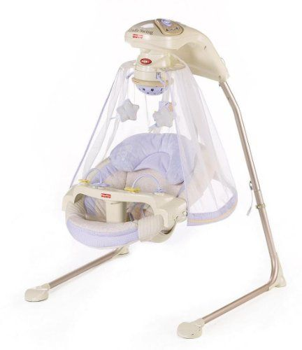 Fisher-Price Papasan Cradle Swing, Starlight | Your #1 Source for Baby Products