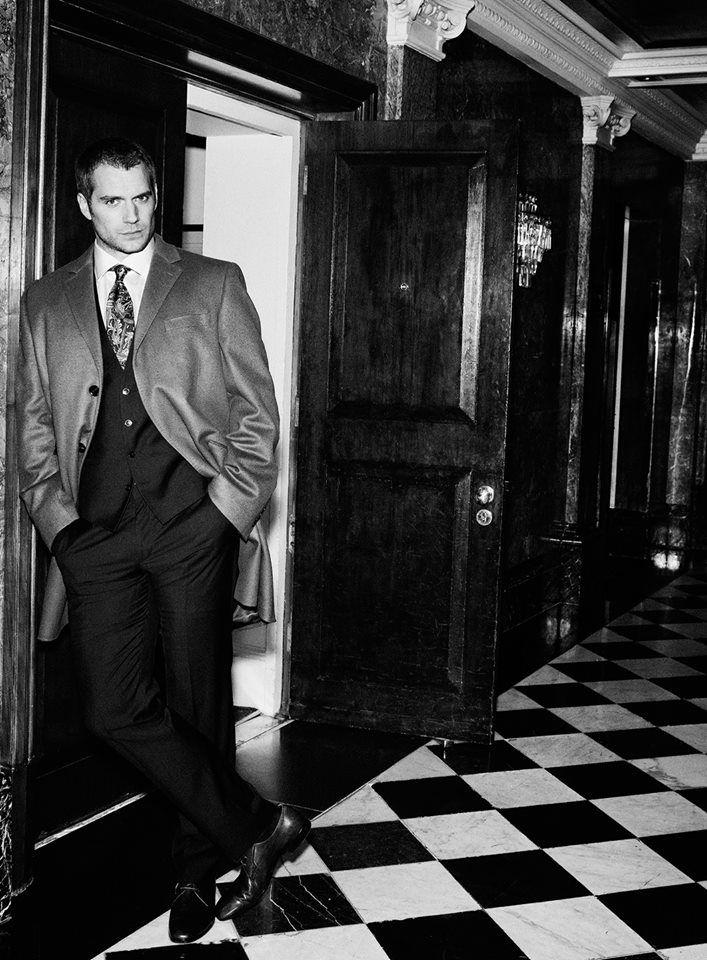 Henry Cavill for Simon Emmett,  Sharp Magazine.