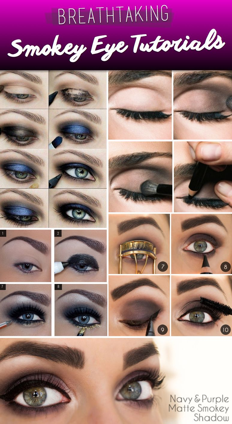 20+ breathtaking smokey eye tutorials to look simply irresistible