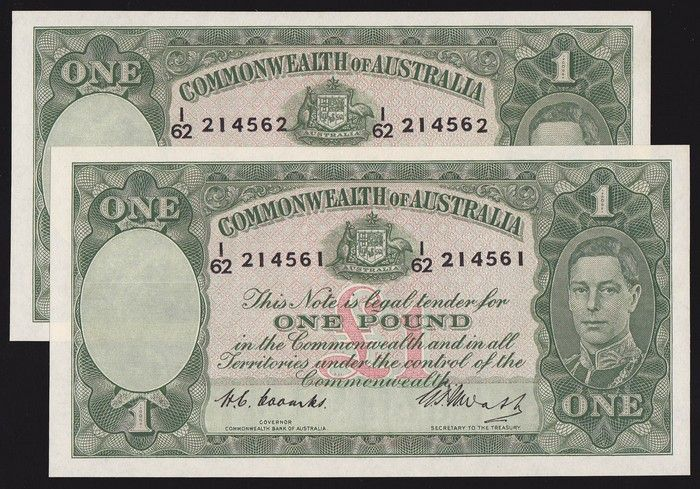 The Trade Archive Australia, Australian money, Collection