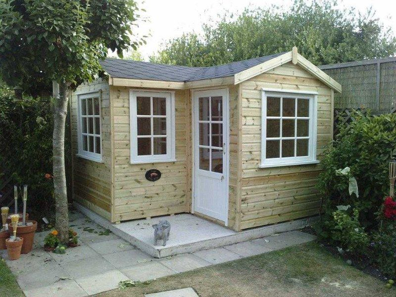 summer houses essex corner cottage - Garden Sheds Essex