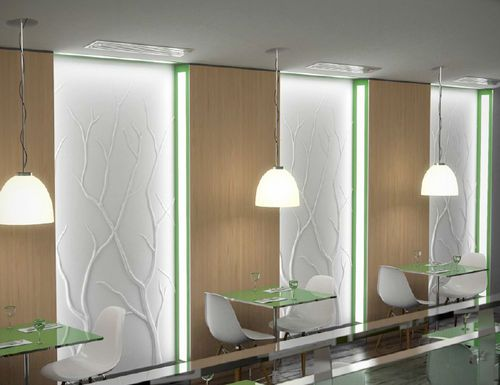 Decorative 3D Reinforced Gypsum Wall Panel