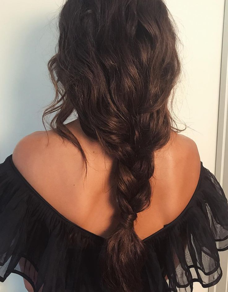 loose, relaxed braid #loosebraids