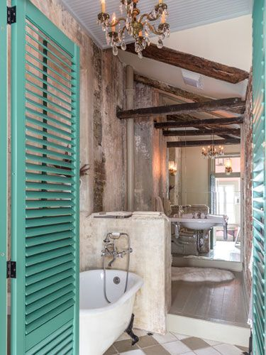 tour a new orleans home filled with historic charm | bathroom
