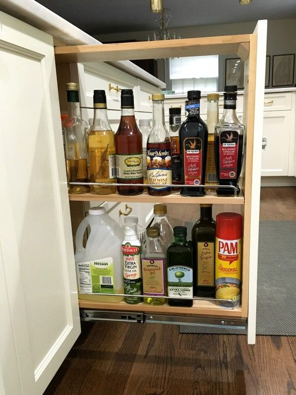 pull out spice cabinet with oils and vinegars spice cabinet kitchen cabinet storage flooring on kitchen organization oil and vinegar id=50613