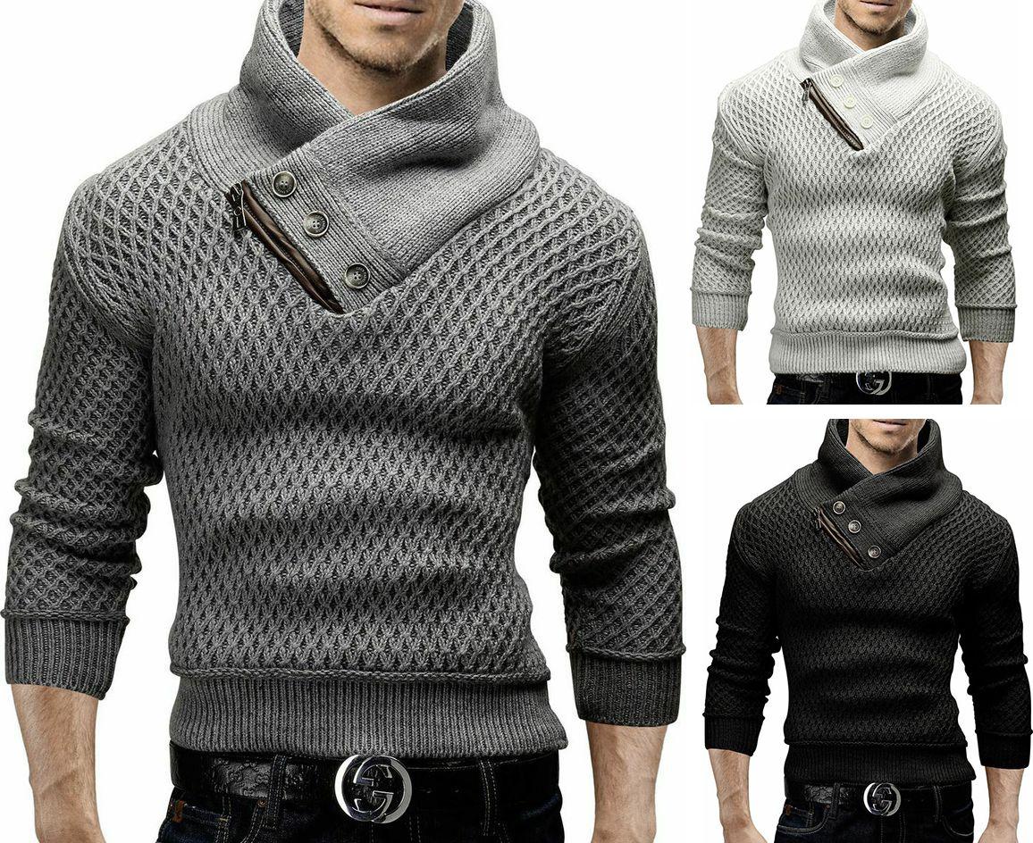 2018 marca hombre hombres suéter Jersey de punto Argyle