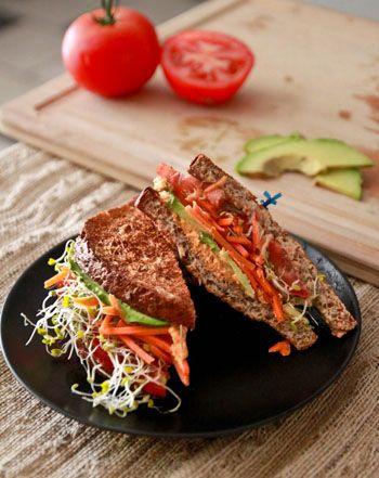Veggie Sandwich Recipe | Sandwiches, Veggie sandwich ...