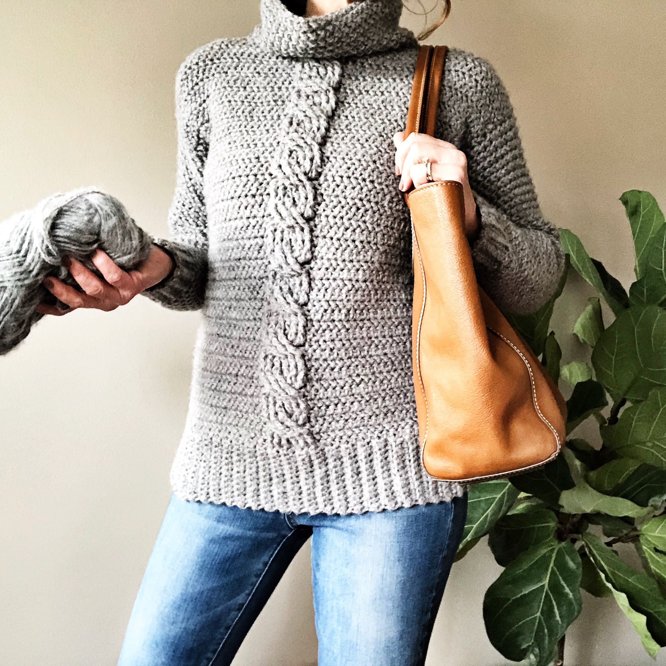Crochet Pattern The Ashlyn Cabled Sweater Pattern Crochet Etsy In 2020 Cable Sweater Pattern Sweater Crochet Pattern Sweater Pattern