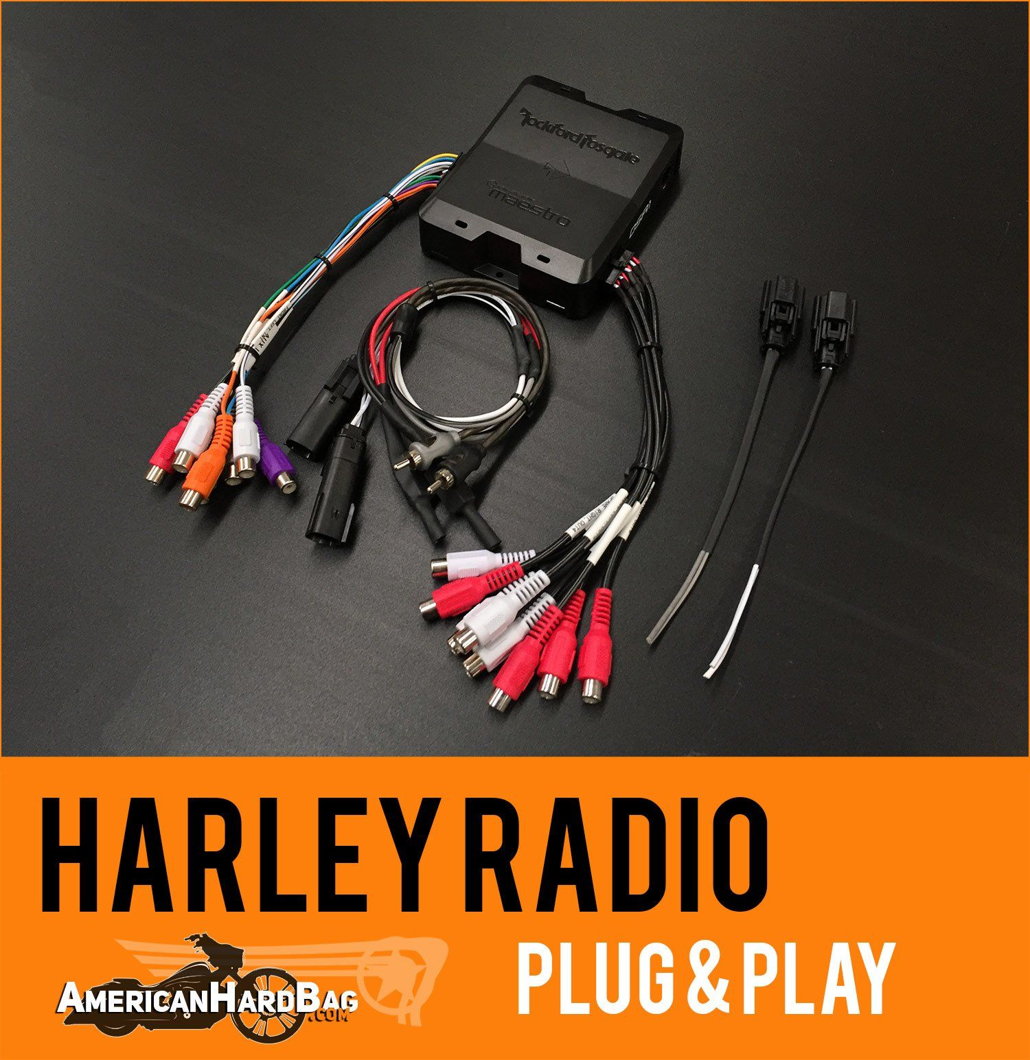 Harley Radio Interface - Equalizer - Rockford Fosgate DSR1