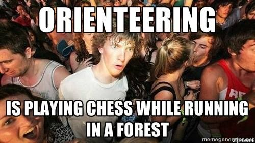 Found on OrienteeringMemes https://www.facebook.com/OrienteeringMemes