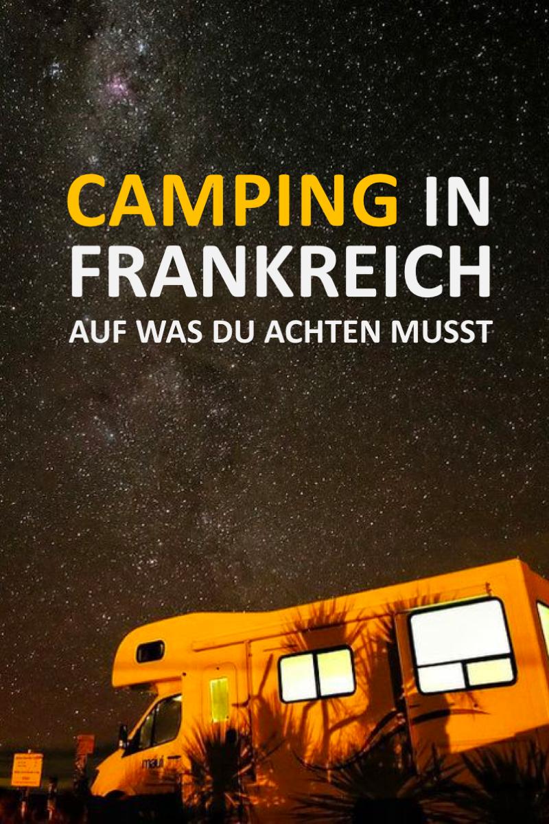 Umfassende Vorbereitung für das Camping in Frankreich #essentialsforcamping