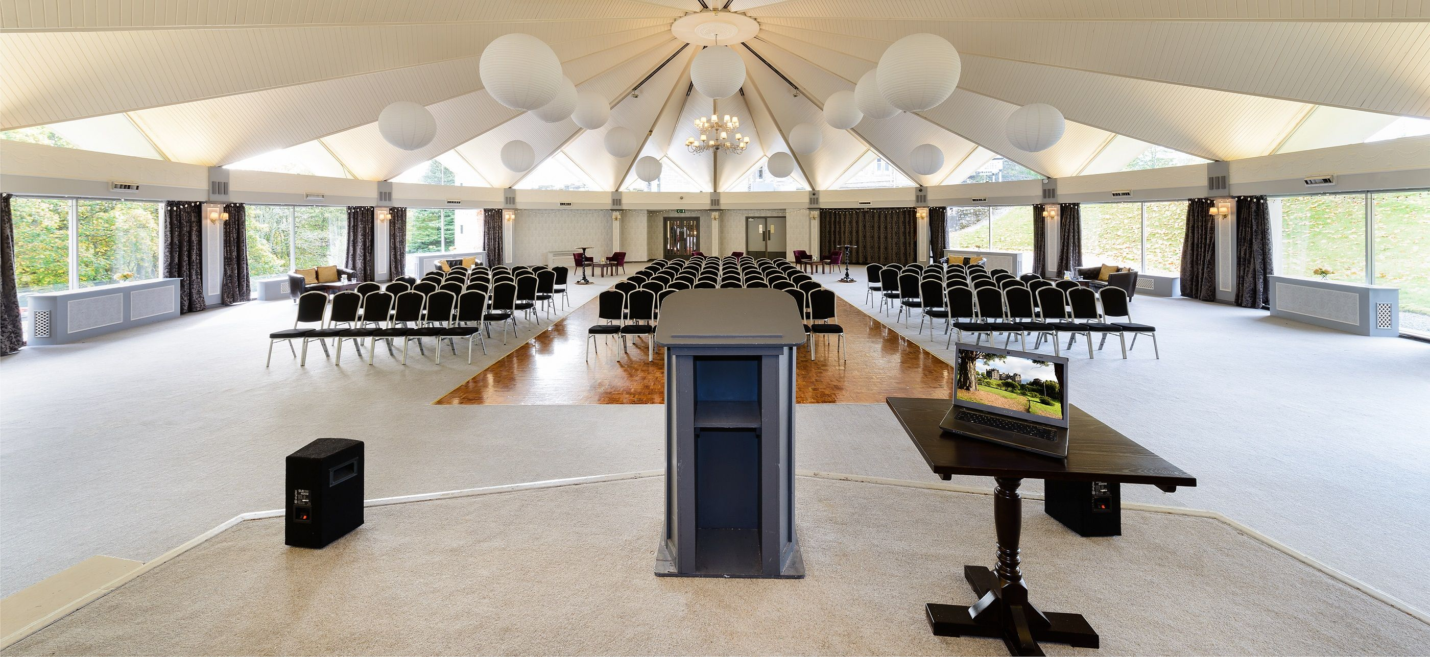 Think of the possibilities in a room like this atholl suite in atholl palace hotel
