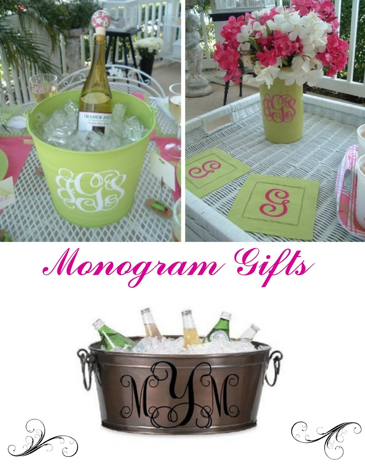 The High Heeled Hostess Monograms Galore Monogram Gifts