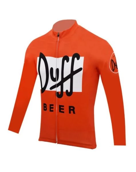Duff Beer cycling Short Sleeve Jersey Cycling Jersey