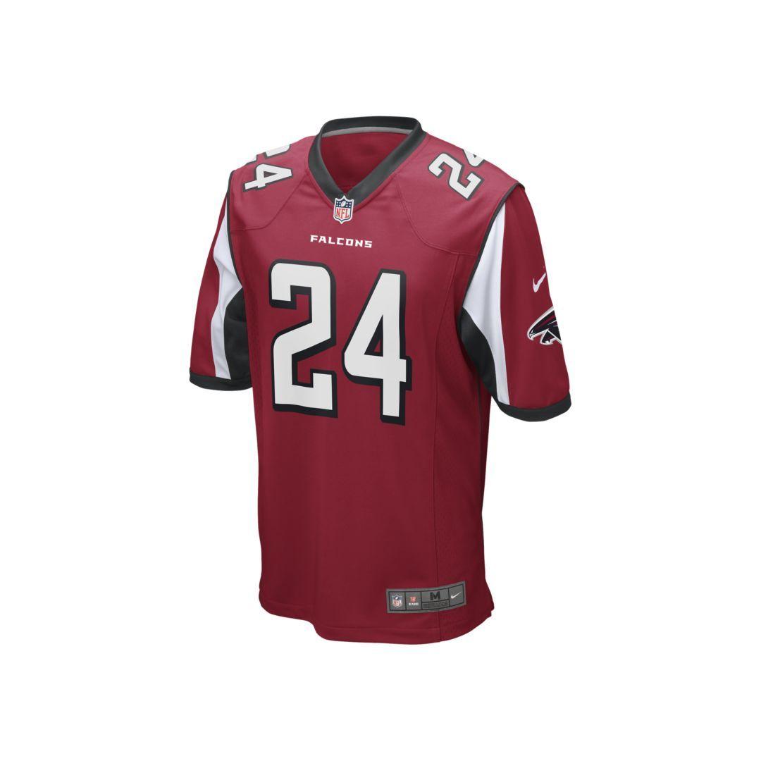 a75f4229 NFL Atlanta Falcons (Devonta Freeman) Men's Football Game Jersey ...