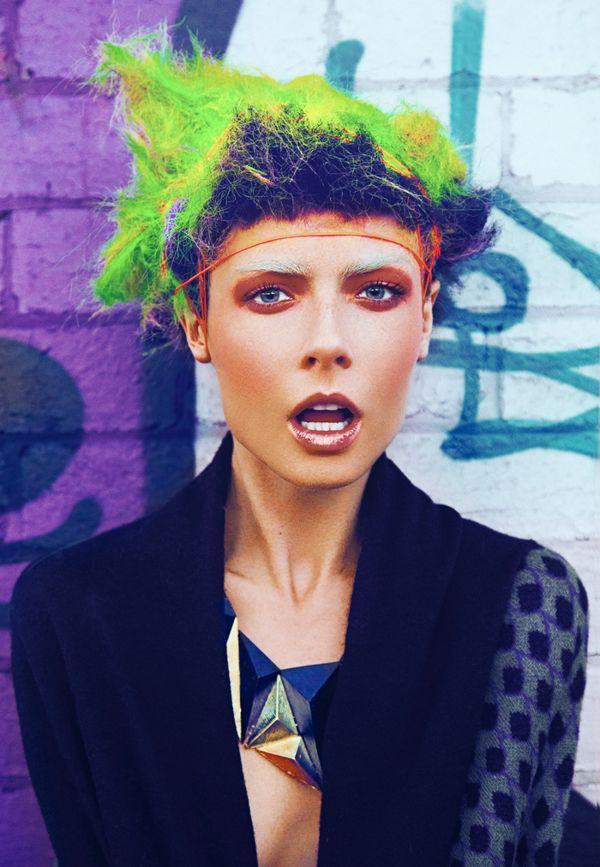 Original Idea - X-presion Photo - Bernard Gueit @ Crave Agency Hair - X-presion  Make-up - Merton Muaremi @ Mac Pro Style - Alpha 60 Production - Ozdare