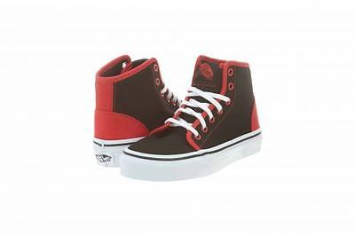 a474b7c2bf VANS 106 HI LITTLE KIDS VN-0RQK-4HJ (POP) BLACK RED Shoes SZ-12 ...