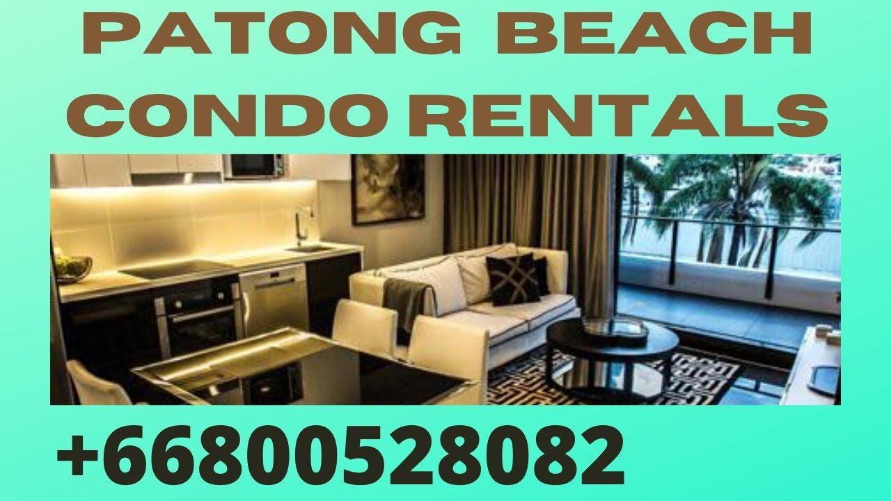 Patong Beach One Bedroom Apartment Near Me 👉 Patong Beach