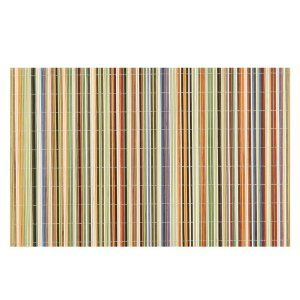 Amazon Com Benson Mills Rainbow Sticks Bamboo Multi Colored Placemats Set Of 4 Coloring Placemats Bamboo Placemats Placemats