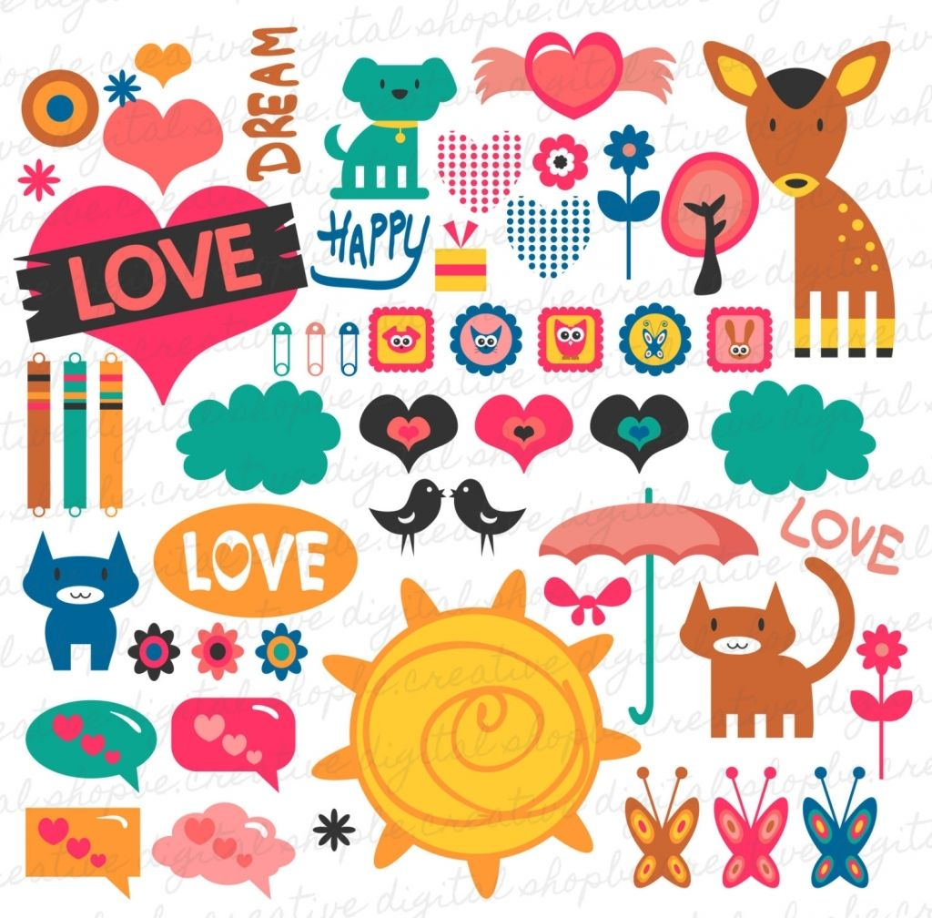 13 Seriously Scrapbook Designs Printable Stickers Love