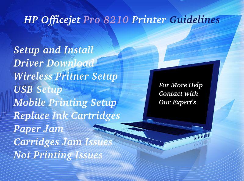 123 hp com/ojp8210 | HP Officejet Pro Printer | Hp officejet pro, HP