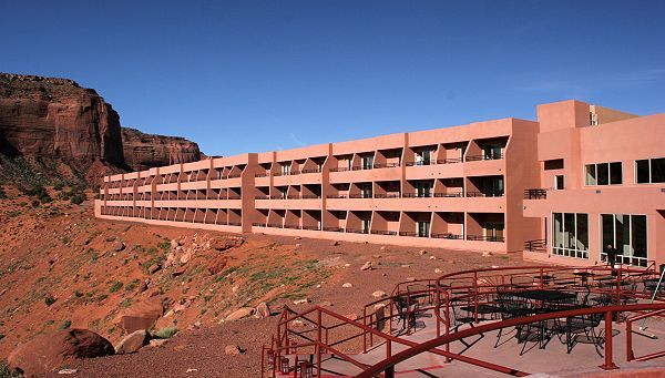 the view hotel monument valley in utah each room has a. Black Bedroom Furniture Sets. Home Design Ideas
