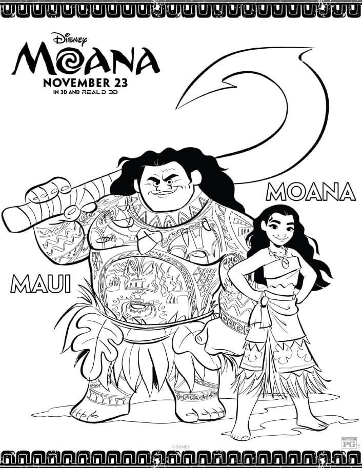 Moana Coloring Pages Free Printables From Disney Moana Coloring Moana Coloring Pages Disney Coloring Pages