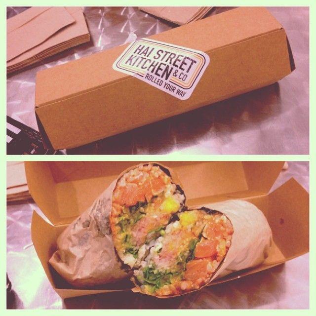 Hai Street Kitchen Co In Philadelphia Pa To Go Sushi Roll