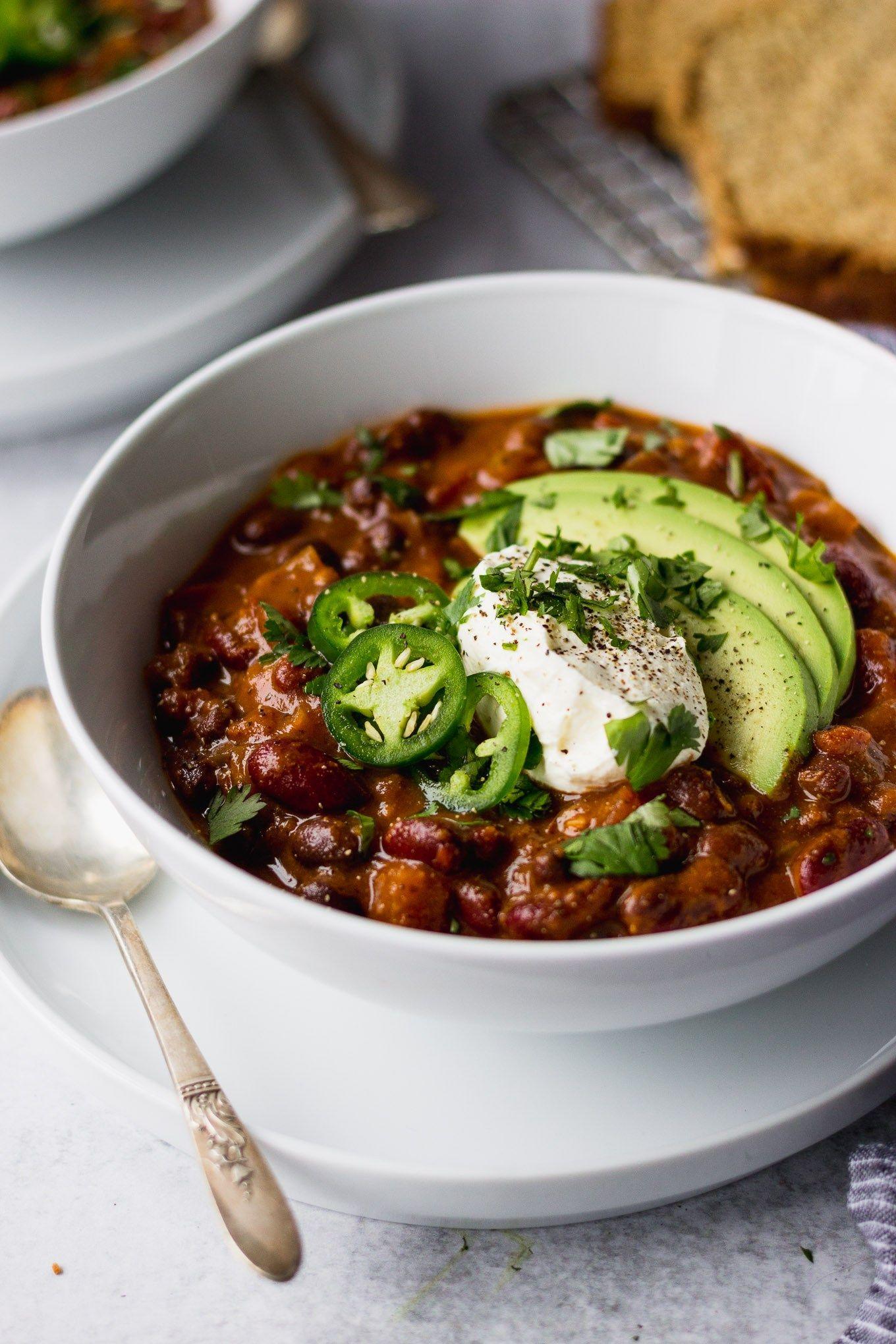 Classic Vegetarian Chili