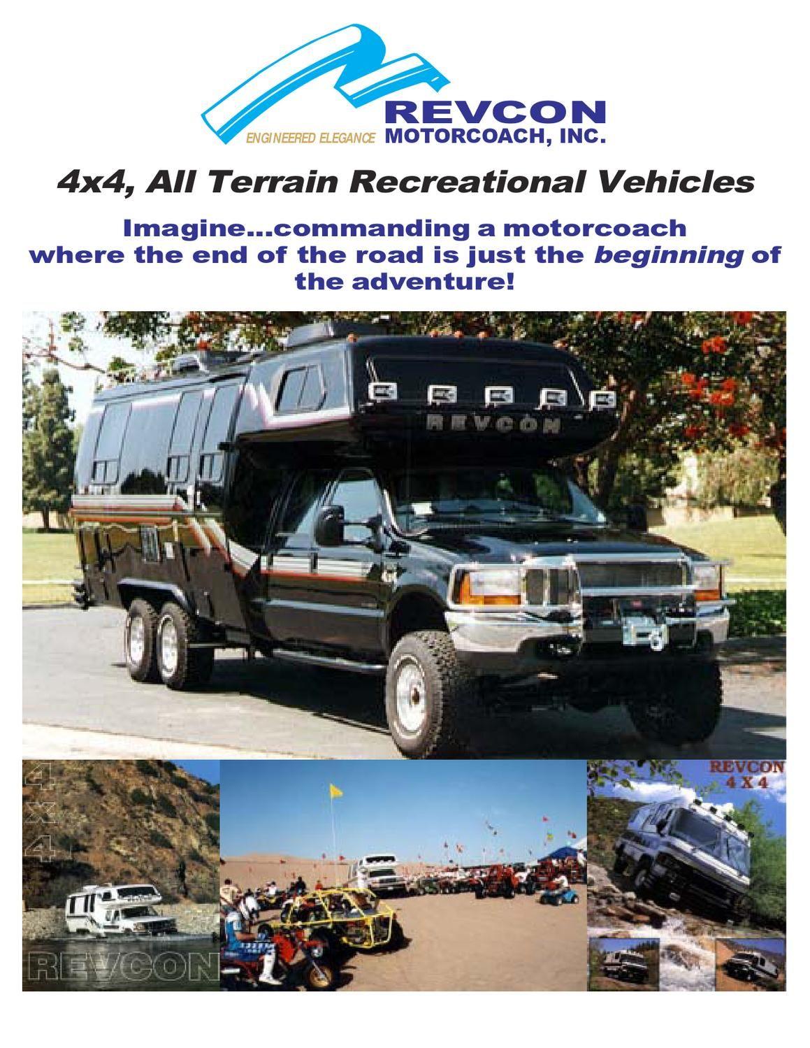 Revcon Trailblazer 4x4   RV's   Truck camper, Truck camping