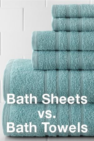Bath Sheets Vs Bath Towels How To Choose Bath Linens Overstock Com Bath Sheets Towel Bath Towels