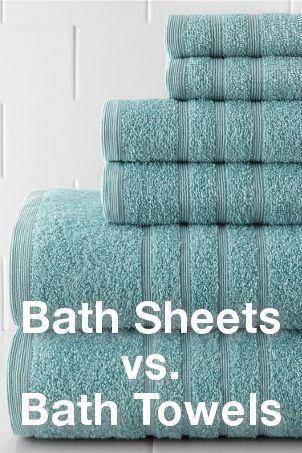 Bath Sheets Vs Bath Towels How To Choose Bath Linens Overstock Com Towel Bath Sheets Bath Towels