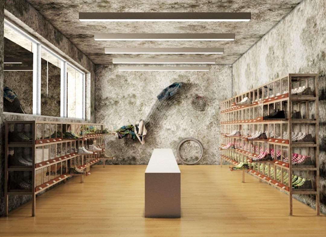 Industrial design for #springa #shoes store by #emporioorenga  #industrialdesign #furniture #design #florence #italy #espositore #scarpe #firenze #italia