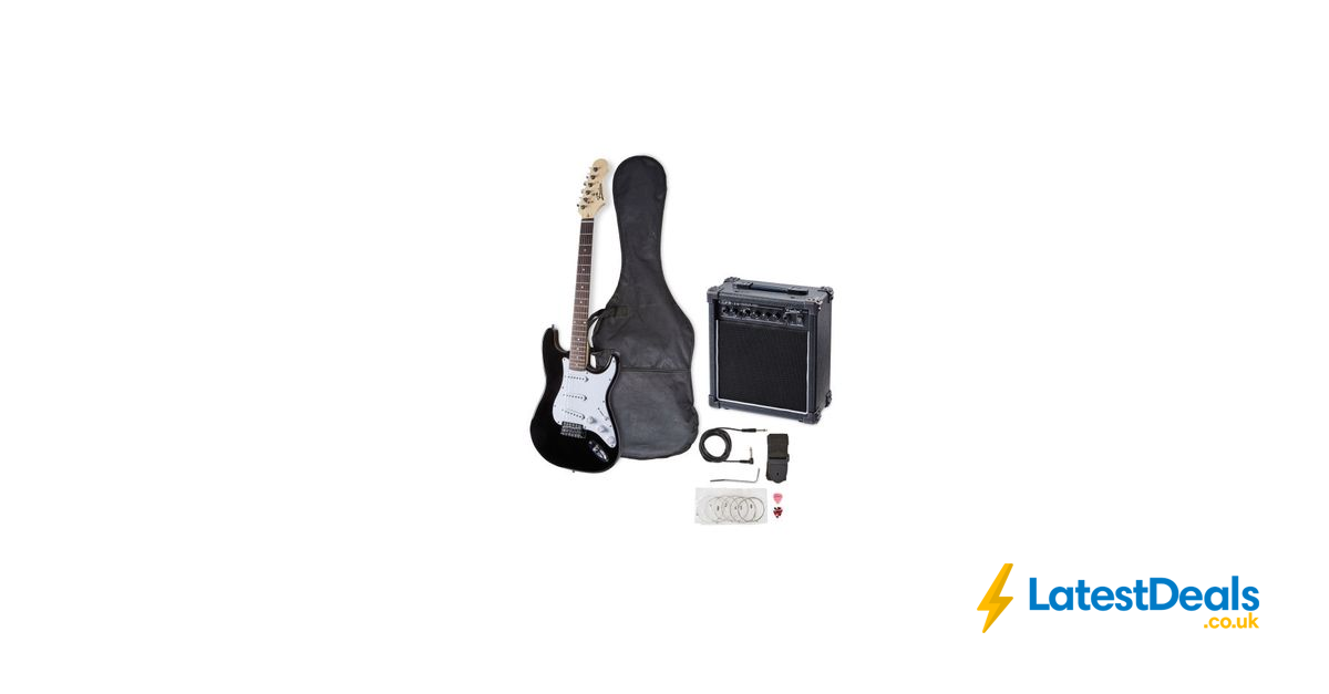 Freedom Electric Guitar Starter Pack Free Delivery 44 99 At Aldi Starter Pack Electric Guitar Guitar