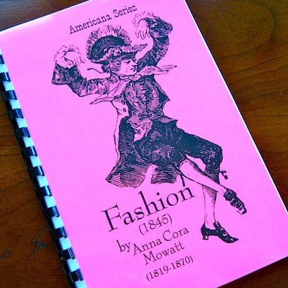 fashion by anna cora mowatt summary