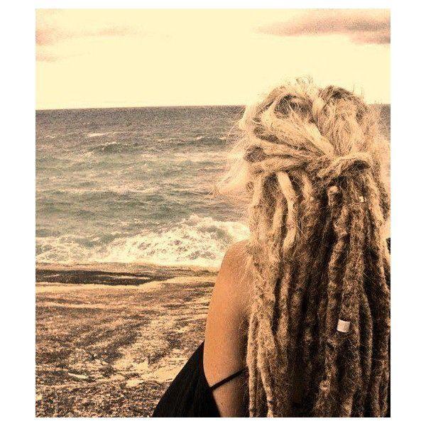 blonde dreads