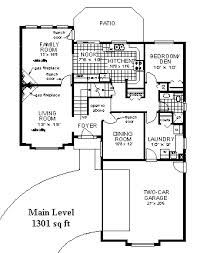 Floor Plan With Garage In Front Facing Front Door Floor Plans How To Plan Front Door