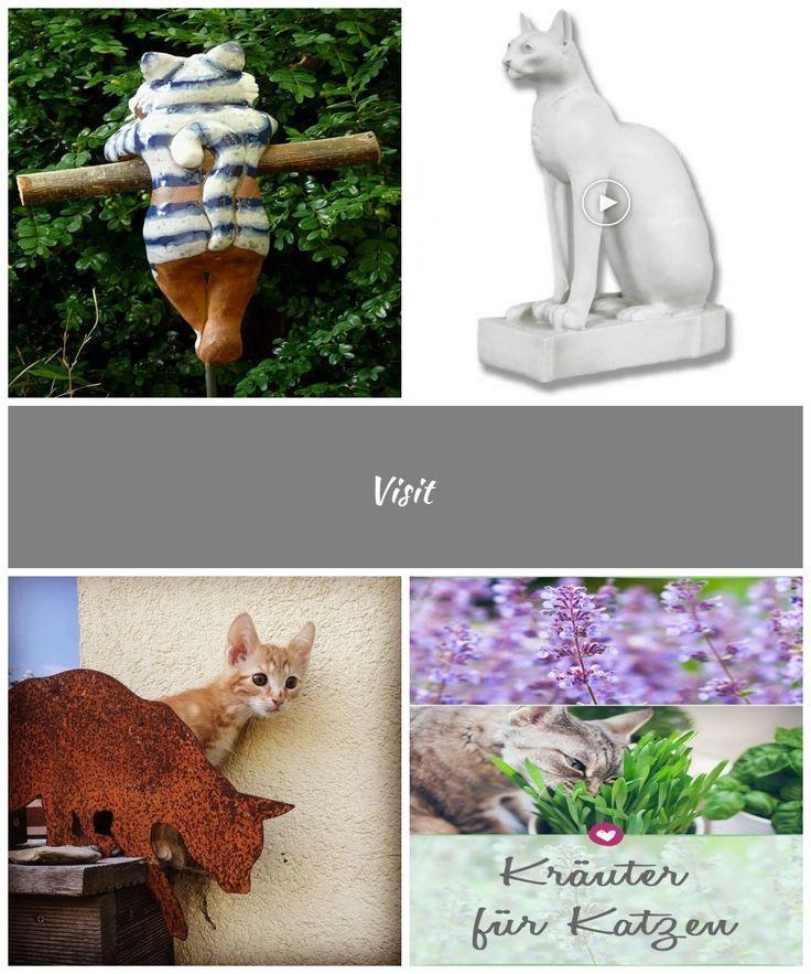 Katze Garten Plug Garten Figur Garten Design Figur Keramik  Tonfiguren Mensch   sarcasticquotes