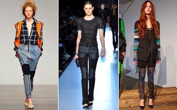 Batom Rosa : o jeans patchwork vai pegar por aqui?