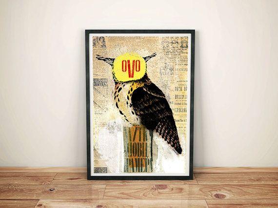 owl by Zdravkony on Etsy