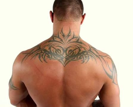 Randy Orton Back Tattoo Back Tattoo Back Tattoos For Guys Tattoos
