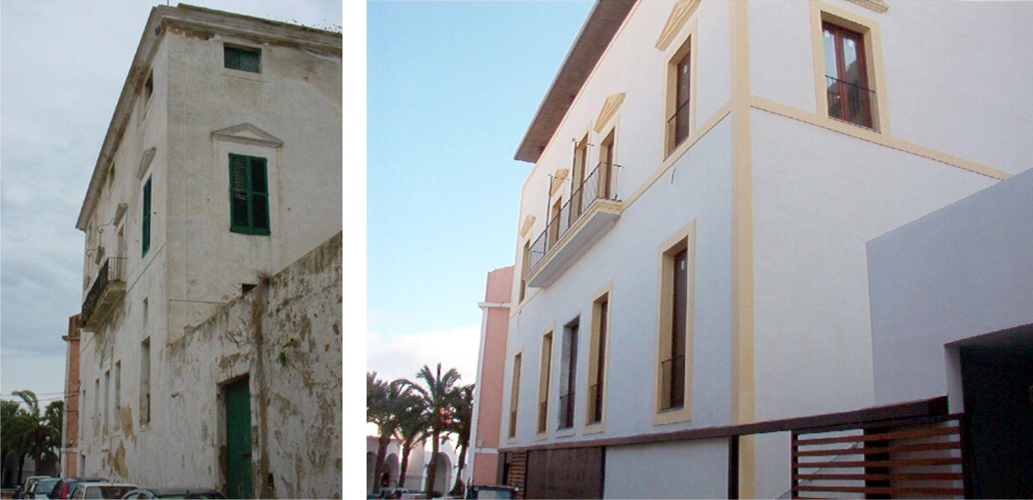 Exterior tradicional edificios via planreforma for Fachada tradicional