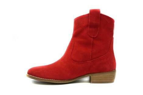 diseño superior descuento especial bien baratas Botin rojo plano   Botines rojos   Botines rojos, Rojo y Botín
