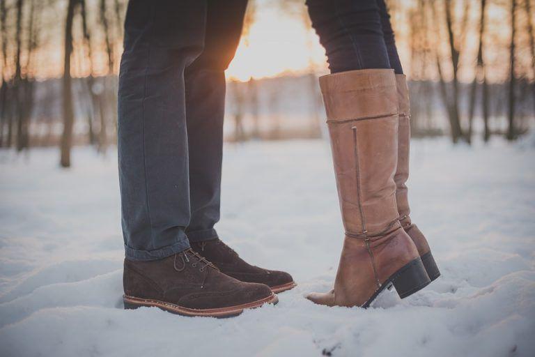 Snow | ShoesCrave | Boots, Couple shoes