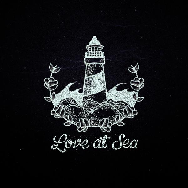 Sea Lettering. by Dustin Chessin, via Behance