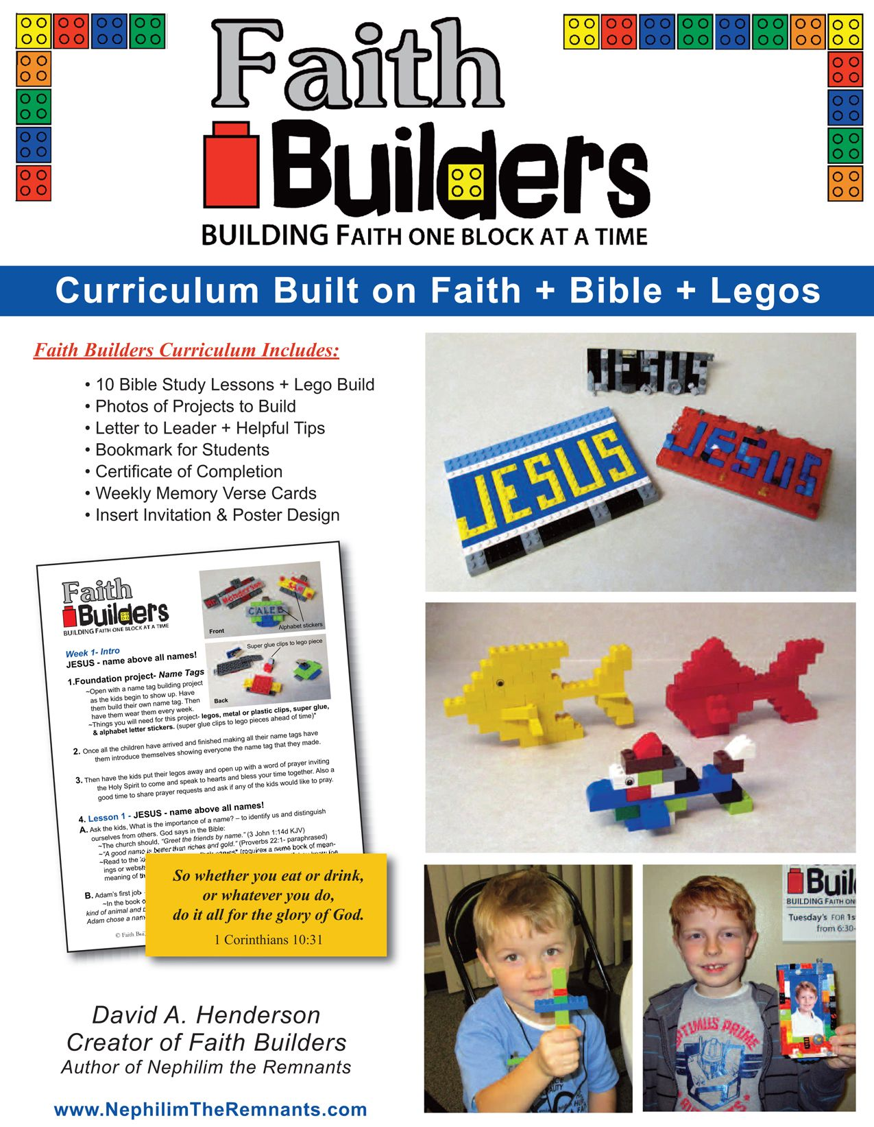 looks like an interesting curriculum for a small vbs or summer