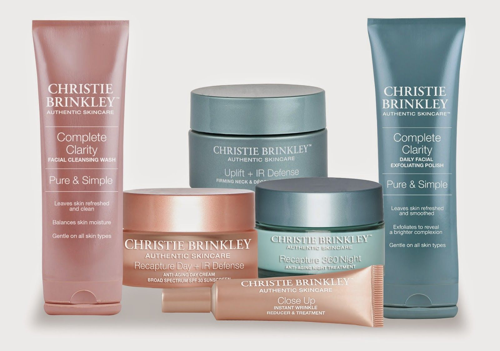 Ev Curl Gurl New Christie Brinkley S Skincare Line Authentic Skincare Christie Brinkley Skin Care Skin Care