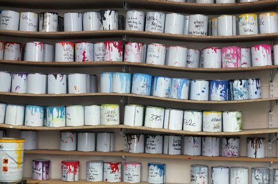 Pots of emulsion