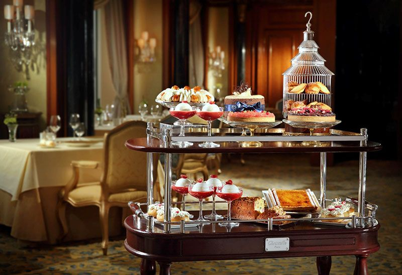 The Dessert Trolley Pastry In 2019 Desserts Afternoon